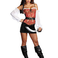 Pirate Pin Up Costume | Sexy Clothes Womens Sexy Dresses Sexy Clubwear Sexy Swimwear | Flirt Catalog