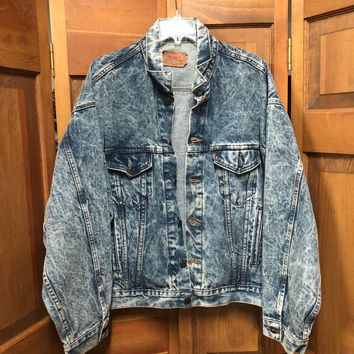VINTAGE LEVI'S | MEN'S DENIM JACKET | XL