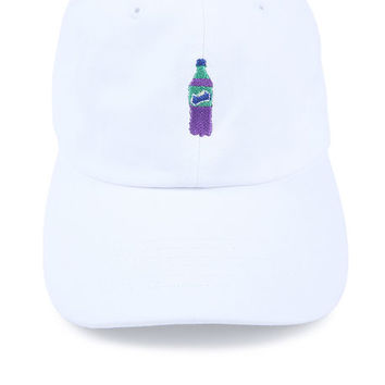 The Dirty Soda Dad Hat in White