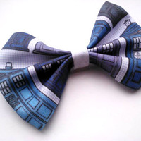 Dr.Who Small Hair Bow/Accessory