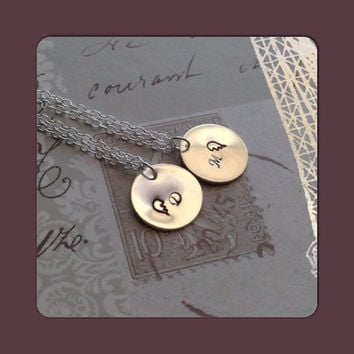 Best Friends Necklaces Long Distance Friendship Gift - Long Distance ...