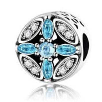 Pandora Charms Pattern of Frost Openworks Charm Bead Christmas Authentic Pandora
