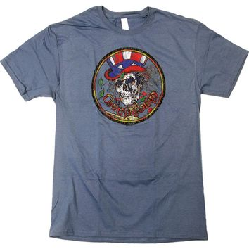 Grateful Dead Men's  Vintage Sam Vintage T-shirt Blue