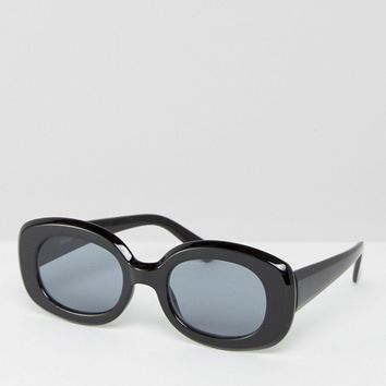 ASOS Square 90s Sunglasses at asos.com