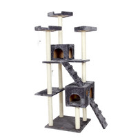 """Aiwang 72"""" Cat Scratching Post and Tree House"""