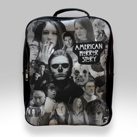 Backpack for Student - American Horror Story Collage Bags