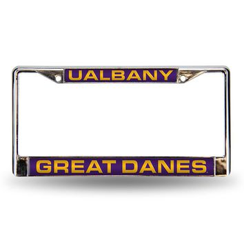 Albany State Golden Rams NCAA Chrome Laser Cut License Plate Frame