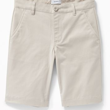 Built-In Flex Twill Straight Uniform Shorts for Boys | Old Navy