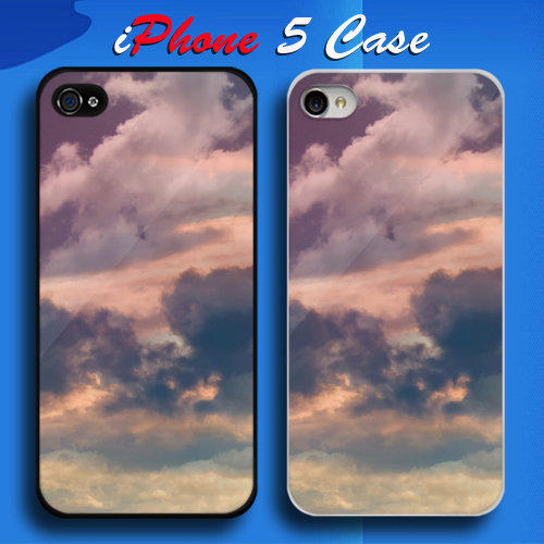 Unique Cloud Custom iPhone 5 Case Cover from namina