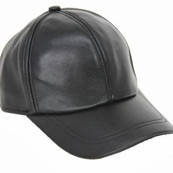 New Men's Women's100% Real Sheep Leather Hat/Golf Hats/Baseball Cap/ Visor Hat