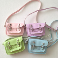 GREEN color only Blythe Bag fit Licca Jerryberry Momoko Doll