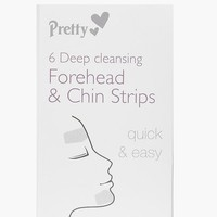 6 Forehead And Chin Nose Pore Strips | Boohoo