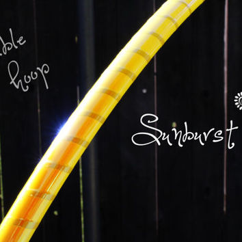 Collapsible Performance Sunburst Hoop // Polypro or hdpe // Free shipping in US