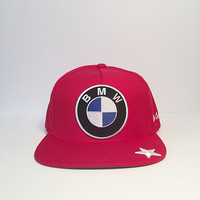 BMW logo star custom snapback hat