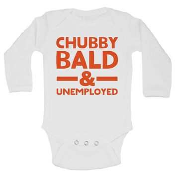 Chubby Bald & Unemployed Funny Kids Onesuit