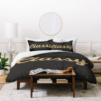 Allyson Johnson Classy And Glittering Duvet Cover