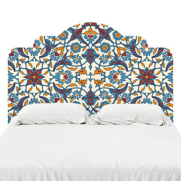 French Bohemian Headboard Decal