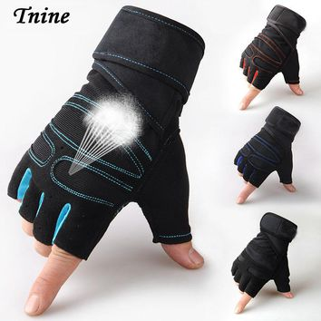 Best price Wrist Support Weight Lifting Fitness Gloves Workout Wrist Wrap ExerciseTraining Safety Tactical Gloves & Mittens