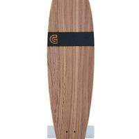 GoldCoast The Classic Zebra Pintail Complete Longboard at PacSun.com