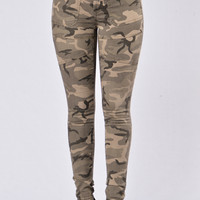 Full Metal Pants - Camo