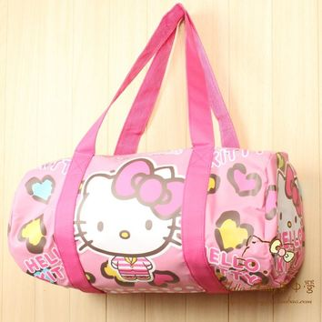 Cartoon Hello Kitty Melody Little Twin stars Handbags Women Travel totes Bags Girls Shoulder Bag Big Capacity Travel Luggage bag