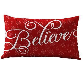 christmas sale decorative throw pillow pillowcase