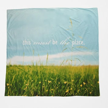 This Must Be The Place Duvet Cover