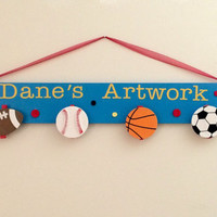 Artwork Hanger, Art Display, Artword Display, Wall Hanging, Room Decor, Art Hanger, Wooden Art Organizer, wall art, Kids Art, kids artwork