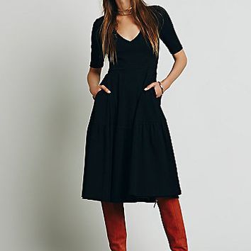 Free People Womens La Belle Knit Midi