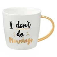 Slant Collections 'I Don't Do Mornings' Mug | Nordstrom