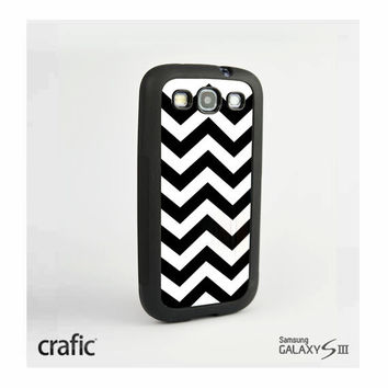Black Chevron Samsung i9300 Galaxy S3 III