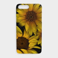 Sunflower Triple - iPhone Cover