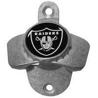 NFL - Oakland Raiders Wall Mounted Bottle Opener