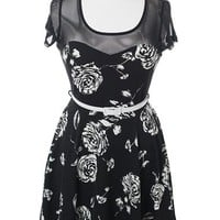 Plus Size Belted Floral Sweetheart Dress, Plus Size Clothing, Club Wear, Dresses, Tops, Sexy Trendy Plus Size Women Clothes