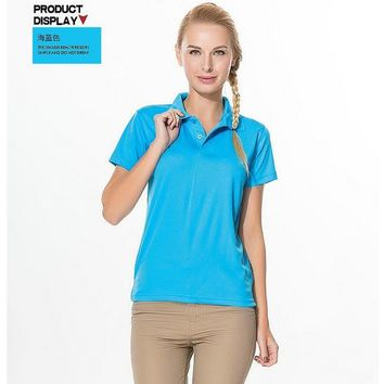 2015 new arrival polo shirts womens golf tops for summer liftstyle vintage clothing wo