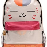 Trendy World Natsume Yuujinchou Mr Cat Backpack Japanese Anime Cartoon Bookbag Cosplay Shoulders Bag