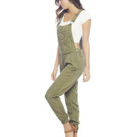 Olive Overall | Wet Seal