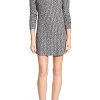 Everly Ribbed Long Sleeve Sweater Dress | Nordstrom