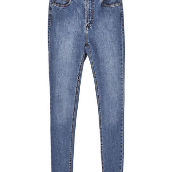 HIGH-RISE SLIM FIT EMBRACE JEANS