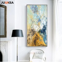 Large Size Modern Abstract Colorful Dreams, Canvas Painting Prints and Posters Wall Art Wall Pictures for Hallway Decoration