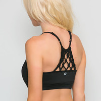 Milan Knotted Sports Bra