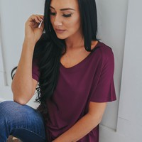Simplistic Tee - Purple