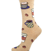 Socksmith Socks Love You A Latte Crew Hemp 1pair