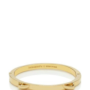 Kate Spade Out Of The Bag Cat Ears Bangle Gold ONE