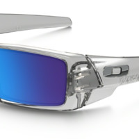 OAKLEY GASCAN Polished Clear with Sapphire Iridium Lenses oo9014-17