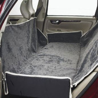 Bowsers Hammock Car Seat Cover - Thunder/Granite