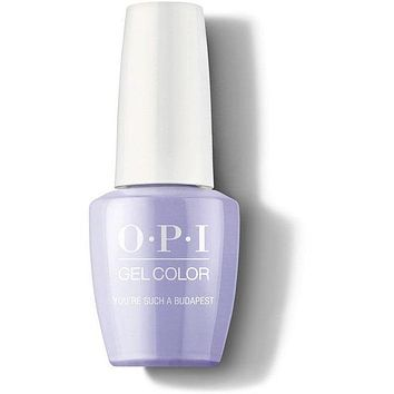 OPI GelColor - You're Such A BudaPest 0.5 oz - #GCE74