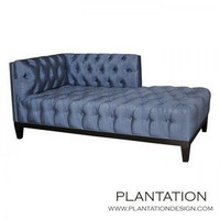 Plantation Design Remy Chaise Left Arm Facing - Seating: Chaises - Modenus Catalog