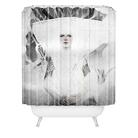 Deniz Ercelebi Through The Gate 1 Shower Curtain