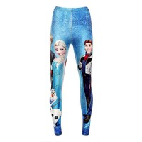 Frozen Leggings - Wizards of the West